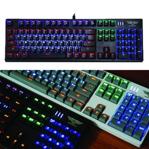 Bàn phím Newmen GM500S LED phím cơ + led 7 màu