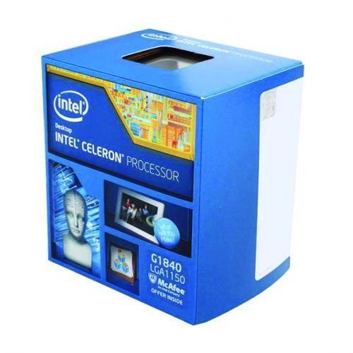 CPU Intel® Celeron G1840 BOX (2.8Ghz/ 2Mb cache)