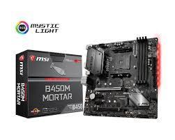 Bo Mạch Chủ - Mainboard MSI B450M MORTAR AM4 (AMD)