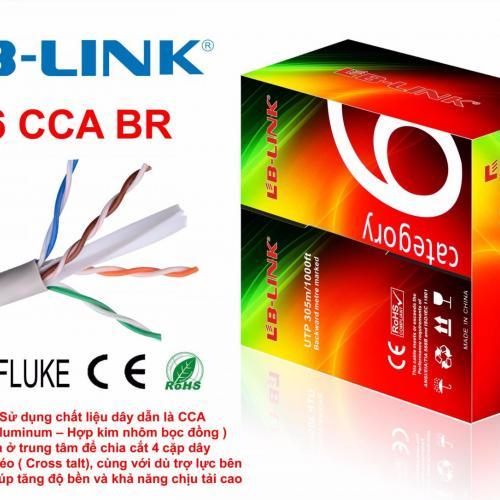 Cáp Mạng LB-LINK Cat 6E UTP-CCA BR 0.4mm 305m