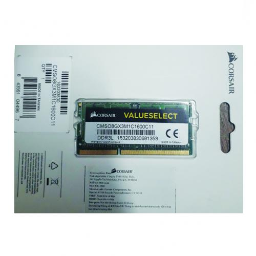 Ram Laptop Corsair DDR3L 8GB (1600) C9 CML8GX3M1C 1.35v
