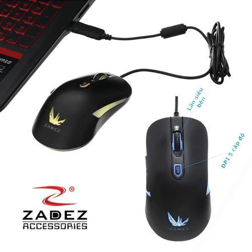 Chuột máy tính ZADEZ GT-613M Wired Gaming