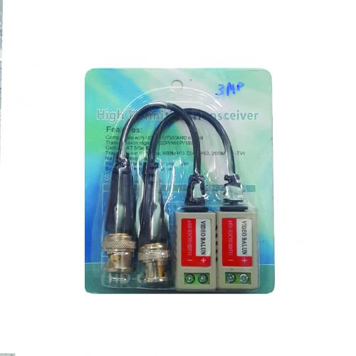 Balun  CAMERA AHD/TVI/CVI(3MP)