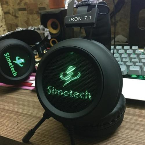 Tai Nghe Simetech  Iron 7.1 usb LED
