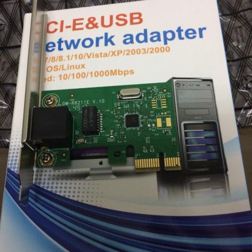 Card Mạng 3468 (CTY) PCI 1X GIGABIT 10/100/1000