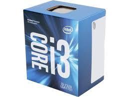 CPU  Intel® Core™ i3 7320 (4.1Ghz, 3MB cache, SK1151)