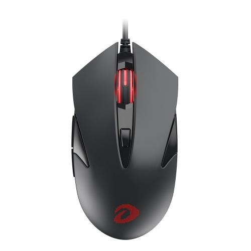 Chuột Gaming DAREU LM145 BLACK/ GRAY (MULTI LED, Avago 3050)