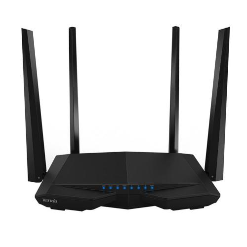 Thiết bị mạng - Router phát Wifi chuẩn AC 1200Mbps Tenda AC6 (Đen)