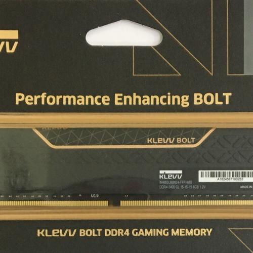 Ram Máy Tính Klevv Gaming Tản Nhiệt 8G/2400 Thương hiệu Korea