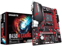 Mainboard GIGABYTE B450M GAMING AM4 m-ATX