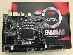 Bo Mạch Chủ - Mainboard AFox B75MẠ-V1 LAN 1GB