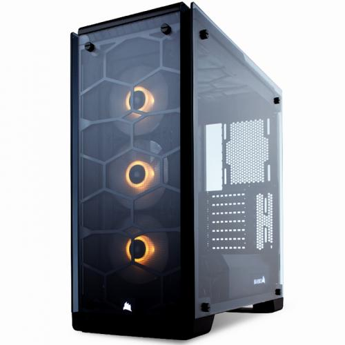 Vỏ máy tính Corsair Crystal Series 570X Black RGB -Tempered Glass- kính cường lực