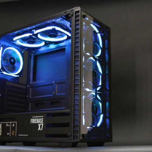 Vỏ máy tính 1STPLAYER FIRE BASE X7 - 2 mặt kính cường lực