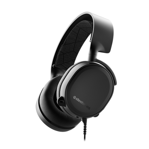 Tai nghe SteelSeries Arctis 3 Black/White -2019 Edition