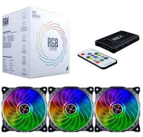 Fan Case 1STPLAYER RGB Set 3 FAN + ĐIỀU KHIỂN FIRE DANCING DF1202512
