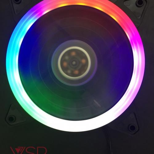 Fan Case VSP -12cm- LED SINGLE CIRCLE