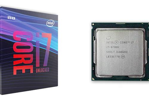 CPU Intel Core i7 9700K 3.6 GHz turbo up to 4.9 GHz /8 Cores 8 Threads/12MB /Socket 1151/Coffee Lake