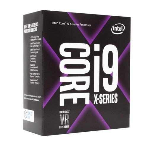 CPU Intel Core i9-9900X 3.5 GHz Turbo 4.4 GHz up to 4.5 GHz / 19.25 MB / 10 Cores, 20 Threads / socket 2066 (No Fan)