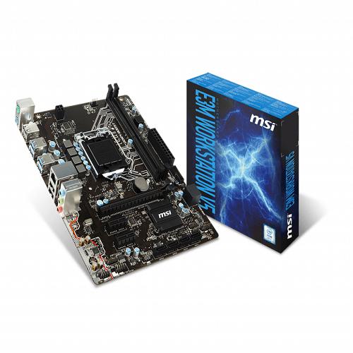 Bo Mạch Chủ - Mainboard MSI E3M WORKSTATION V5 ( không hỗ trợ VGA tích hợp )
