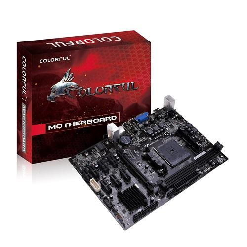 Bo Mạch Chủ - Mainboard Colorful C.A68M-BTC V14 + CPU AMD A4 6300 (Box)