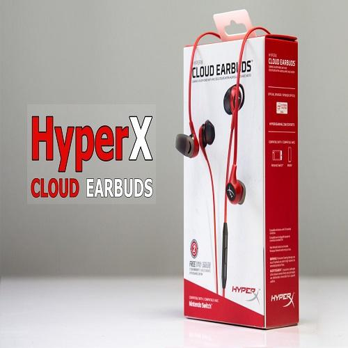 Tai nghe Kingston EARPHONE CLOUD EARBUDS ( red )
