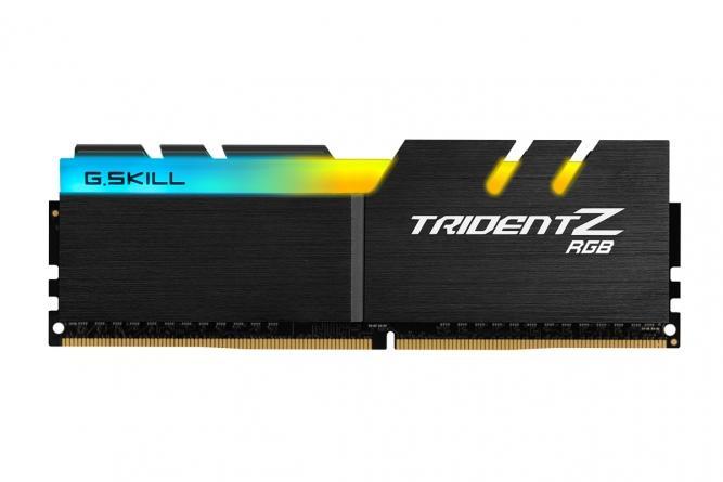Ram Máy Tính GSKILL TRIDENT Z RGB - 8GB (8GBx1) DDR4 bus 3000 - F4-3000C16S-8GTZR