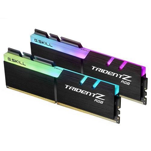Ram Máy Tính GSKILL TRIDENT Z RGB 32GB(16GBx2) DDR4 3000GHz -F4-3000C16D-32GTZR
