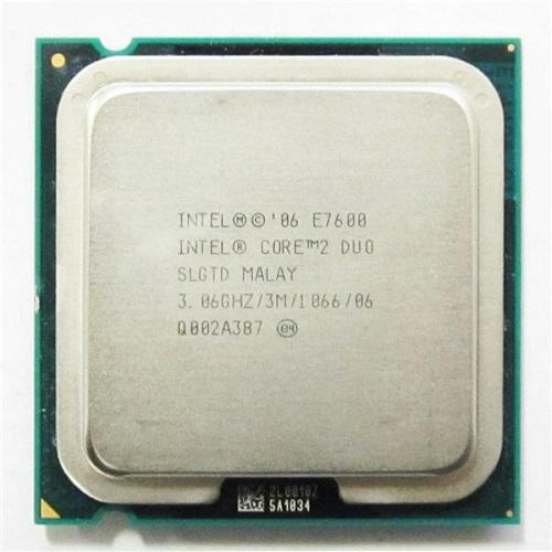 CPU Intel® Core 2 DUO E7600