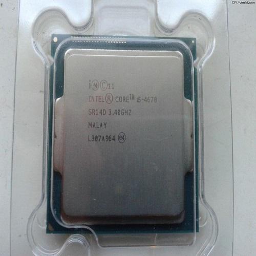CPU Intel® Core i5 4670 TRAY + FAN