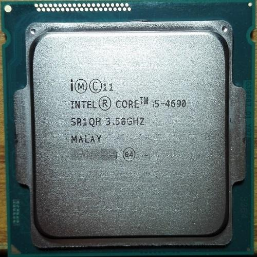 CPU Intel® Core i5 4690 TRAY + FAN