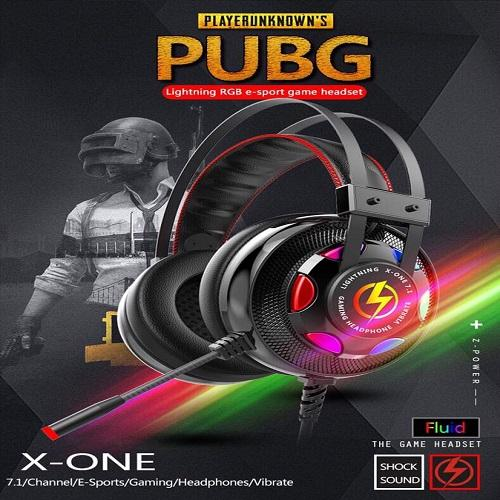 Tai nghe lightning X one Pro led RGB co rung JACK CẮM USB