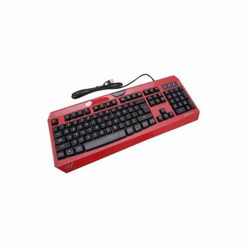 Bàn phím giả cơ LIGHTNING - PR1368S - ĐEN (led 03 màu nền)
