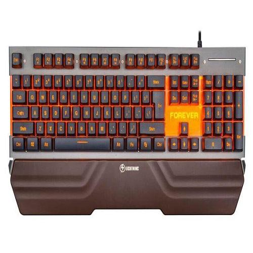 Bàn phím giả cơ LIGHTNING FOREVER - PAD KE TAY (led 01 màu CAM)