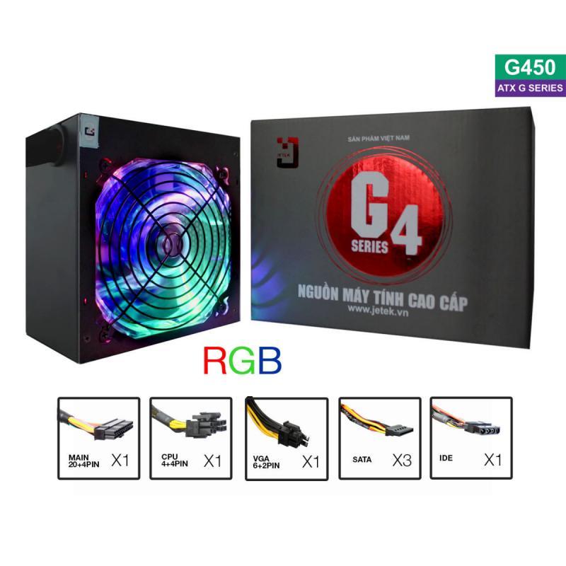 Nguồn máy tính Jetek G450 LED (Call để có giá tốt)