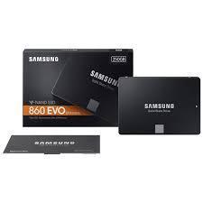 Ổ Cứng SSD Samsung 860Evo 250GB Sata III 2.5 inch - Hàng Nhập Khẩu- 5 Năm
