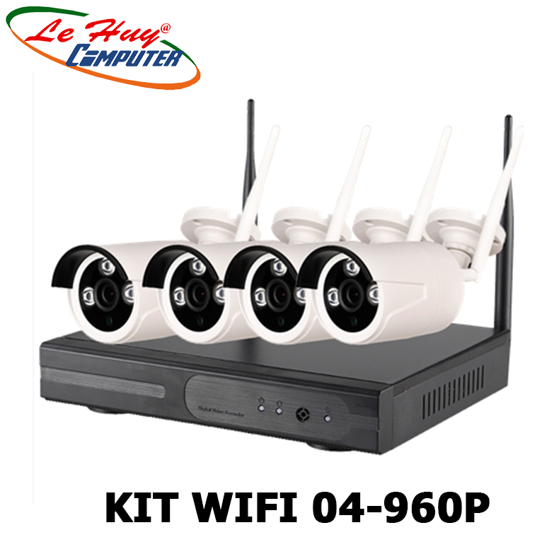 Bộ camera KIT WIFI 04-960P/1.3MP Loại 5G