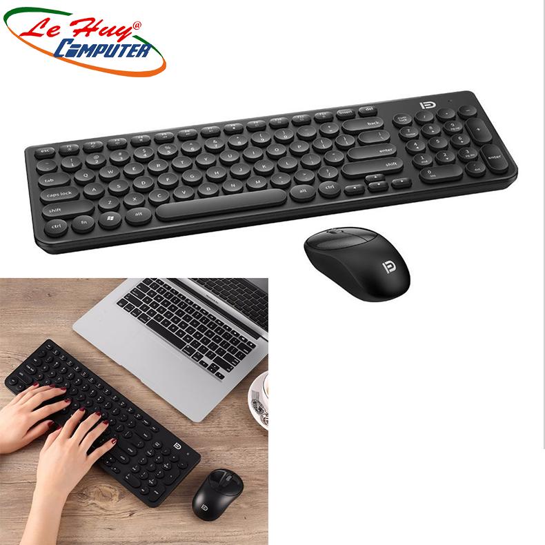 Combo Bàn phím & Chuột máy tính không dây FD IK6630 - Chính Hãng Cao Cấp