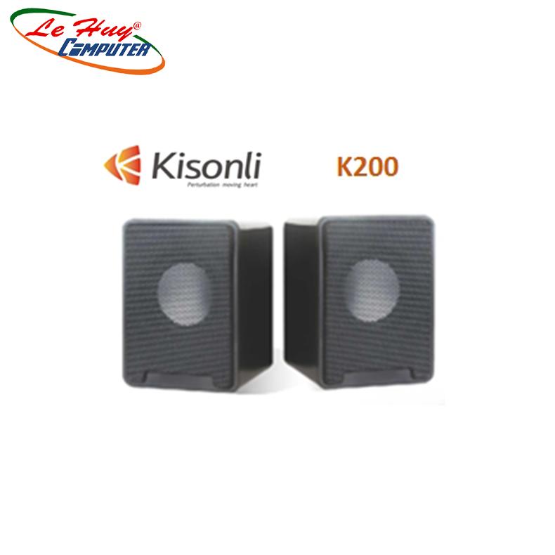 Loa vi tính 2.0 Kisonli K200 - Hàng Chính Hãng