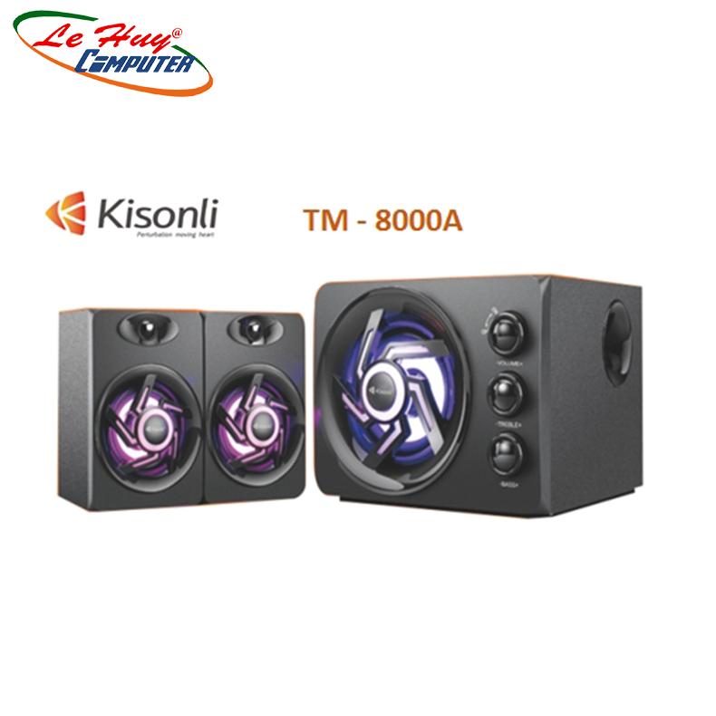 Loa Bluetooth 2.1 Kisonli TM-8000A Led RGB (Bluetooth) - Hàng Chính Hãng