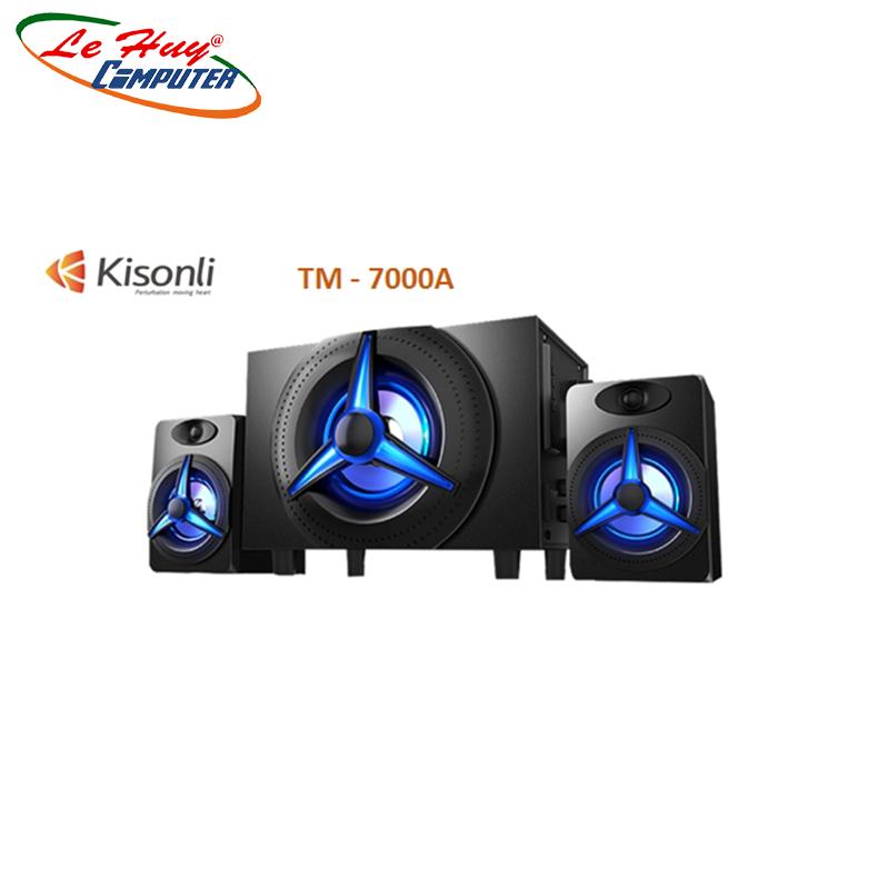 Loa Bluetooth 2.1 Kisonli TM-7000A Led RGB (Bluetooth) - Hàng Chính Hãng