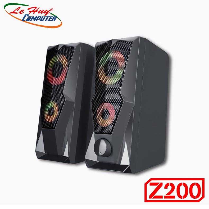 Loa Di Động Bosston Z200 Led RGB - Hàng Chính Hãng