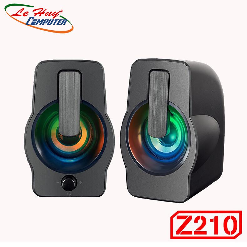 Loa Di Động Bosston Z210 Led RGB - Hàng Chính Hãng