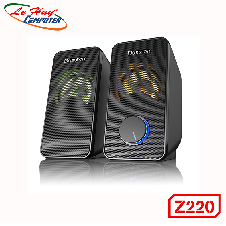 Loa Di Động Bosston Z220 Led RGB - Hàng Chính Hãng