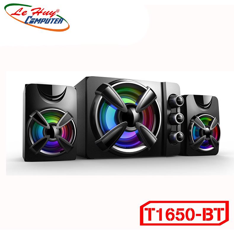 Loa Bluetooth 2.1 Bosston T1650-BT Led RGB (Bluetooth) - Hàng Chính Hãng