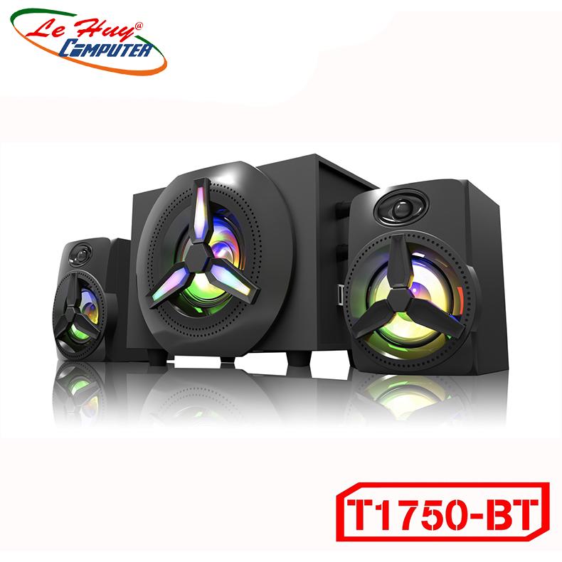 Loa Bluetooth Bosston T1750-BT Led RGB (Bluetooth) - Hàng Chính Hãng