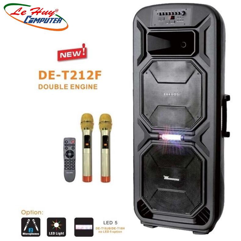 Loa Kéo Di Động A/D/S DE-T212F - Hàng Chính Hãng