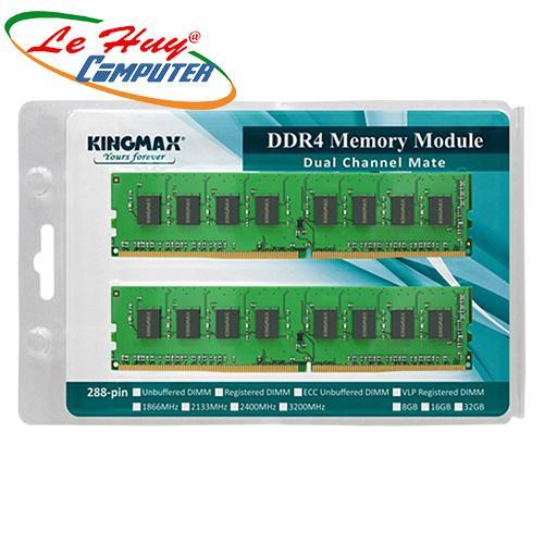 Ram Máy Tính Kingmax 4GB DDR4 2666 Chính hãng-Có vat 420k