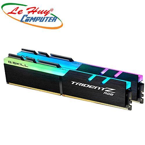 Ram Máy Tính GSKILL DDR4 16G/2400 TRIDENTZ(RGB)(8GX2)-(F4-2400C15D-16GTZR)