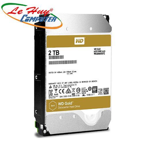 Ổ Cứng HDD Western 2TB - WD2005FBYZ Enterprise (GOLD)