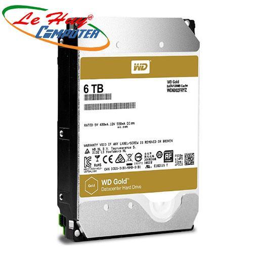 Ổ Cứng HDD Western 6TB - WD6002FRYZ Enterprise (GOLD)